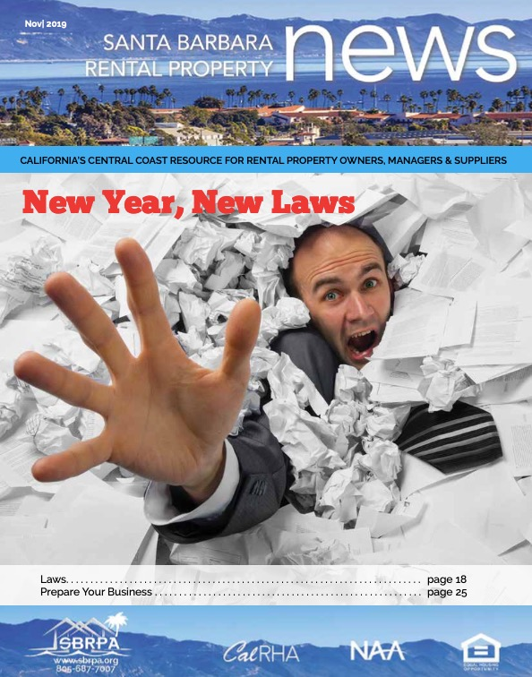 SBRPA November 2019 Magazines