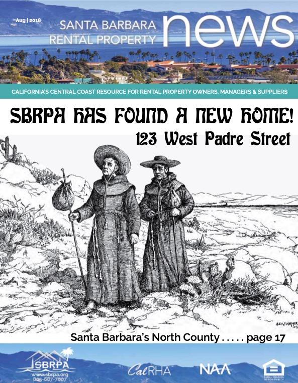 SBRPA August 2018 Magazines