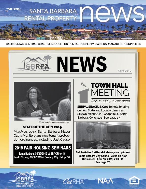 SBRPA April 2019 Magazines