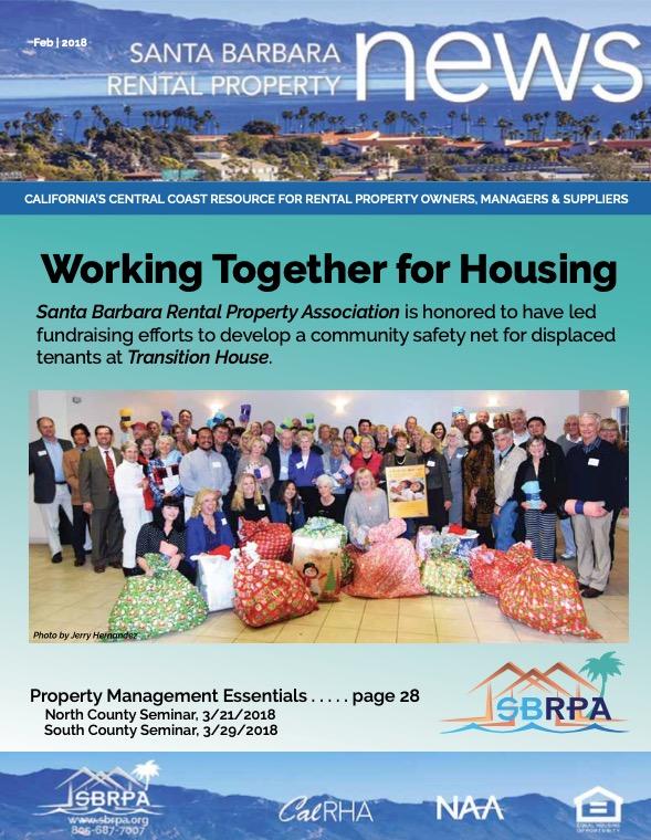 SBRPA February 2018 Magazines