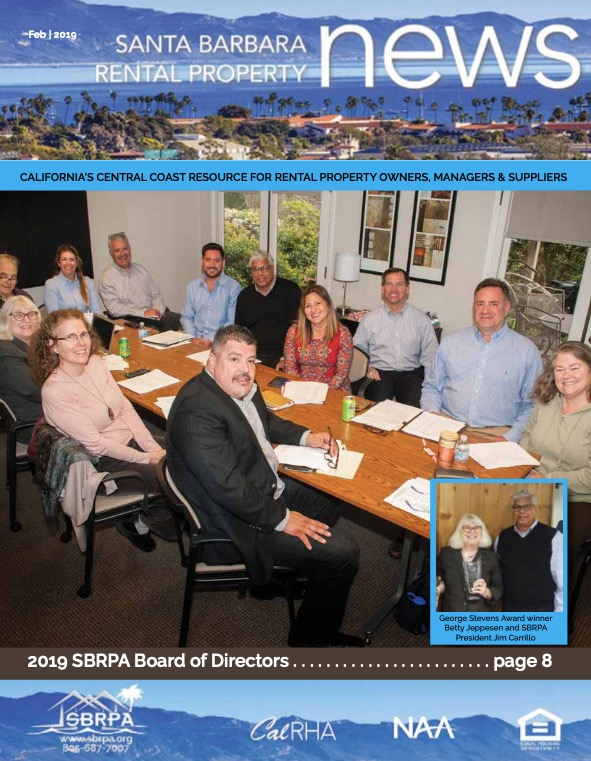 SBRPA March 2019 Magazines
