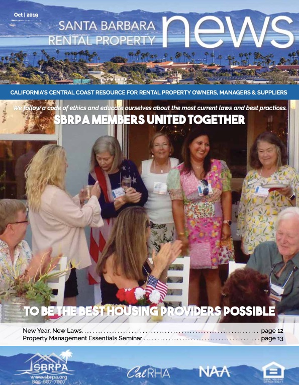 SBRPA October 2019 Magazines