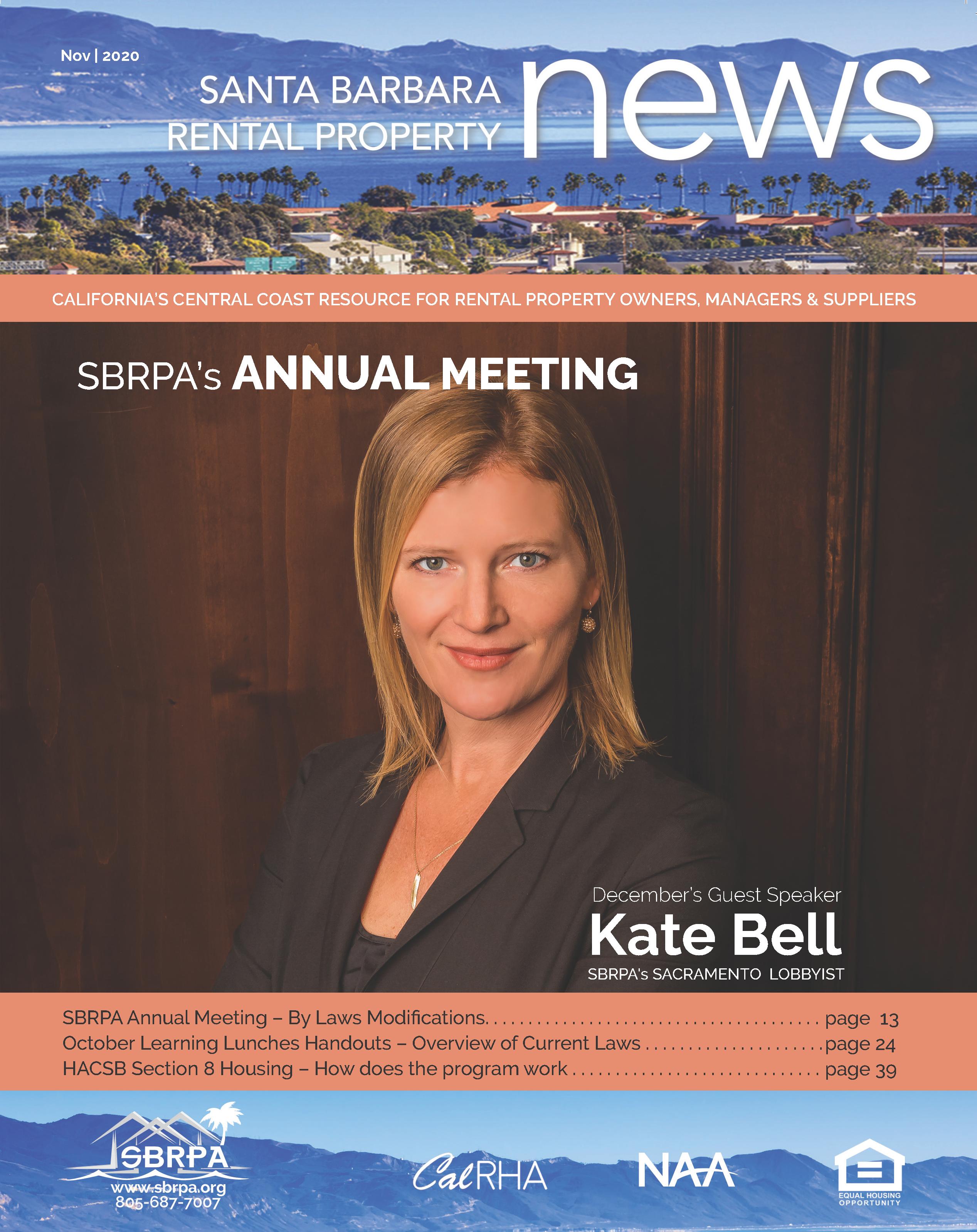 Nov 2020 SBRPA Magazine
